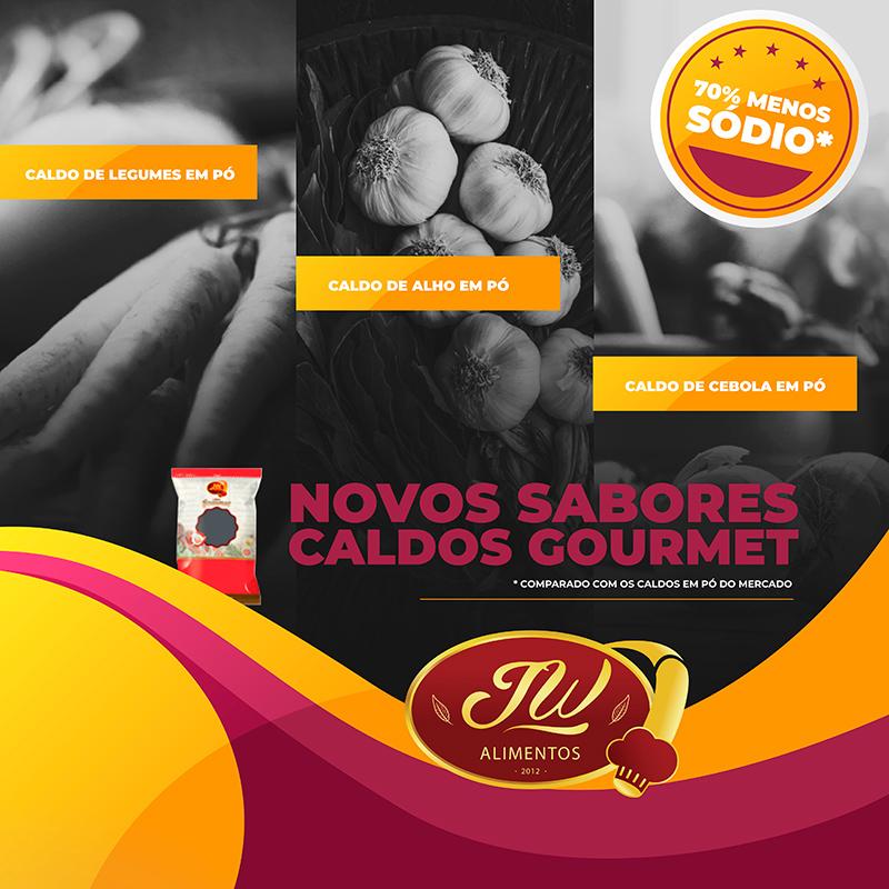 alimentacao e franquias cards JW Alimentos